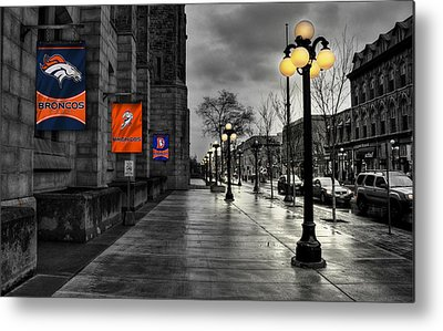 Main Street Metal Prints