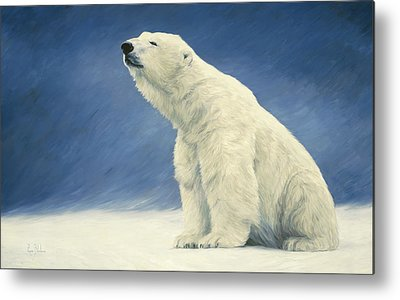 Polar Bear Metal Prints