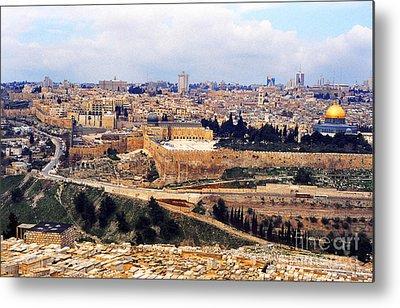 Jerusalem Photographs Metal Prints