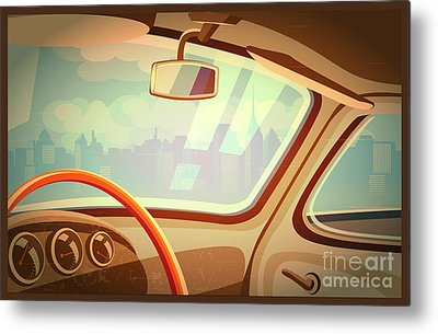 Vehicles Metal Prints