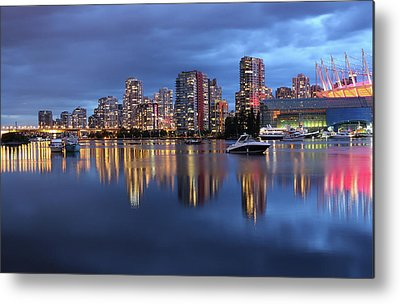 False Creek Metal Prints