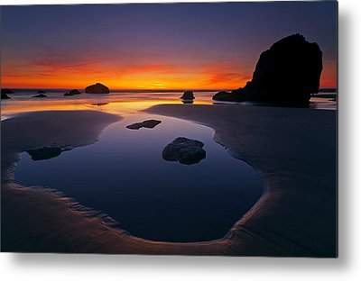 Oregon Coast Metal Prints