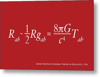 Equation Metal Prints