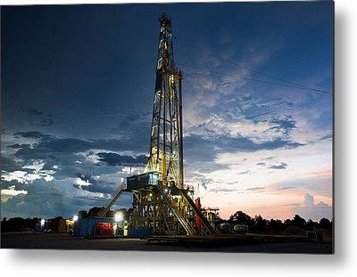 Drilling Metal Prints