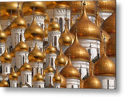 Moscow Metal Prints