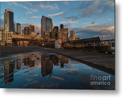 Elliot Bay Metal Prints