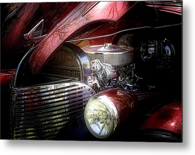 Car Hod Photographs Metal Prints