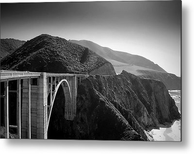 Bixby Bridge Metal Prints