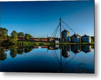 Feed Mill Photographs Metal Prints