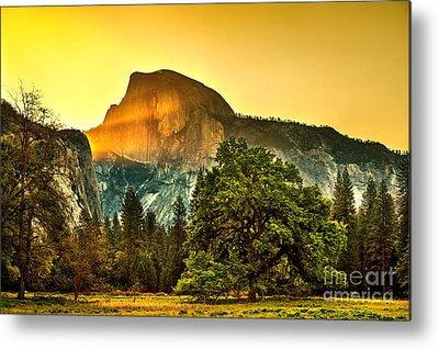 Yosemite Half Dome Metal Prints