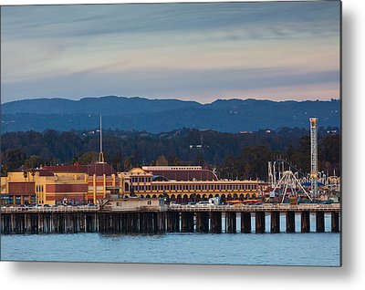 Santa Cruz Wharf Metal Prints