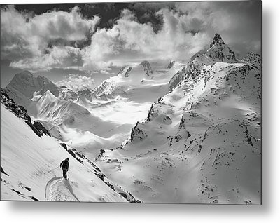 Alps Metal Prints