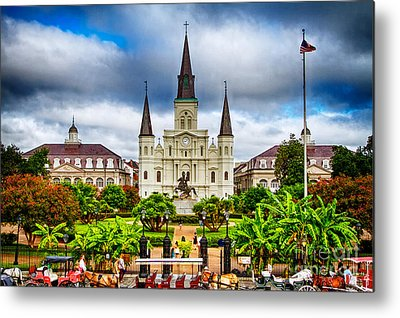New Orleans Photographs Metal Prints