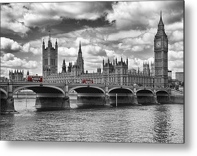 Houses Of Parliament Metal Prints