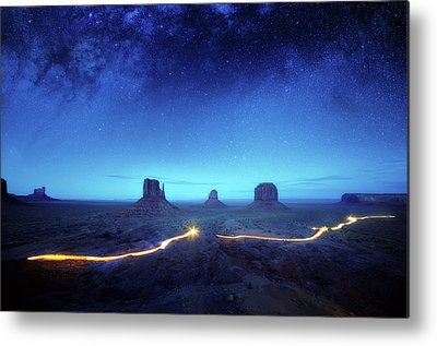 Starry Night Metal Prints