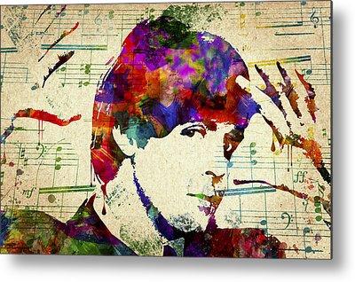Ringo Starr Mixed Media Metal Prints