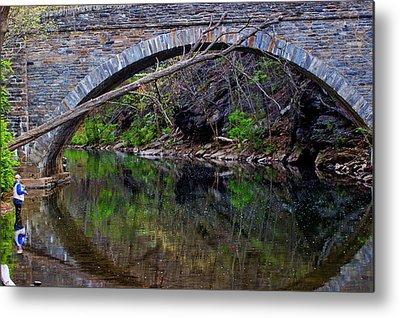 The Narrows Covered Bridge Metal Prints