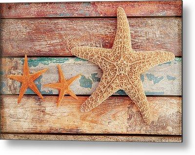 Starfish Metal Prints
