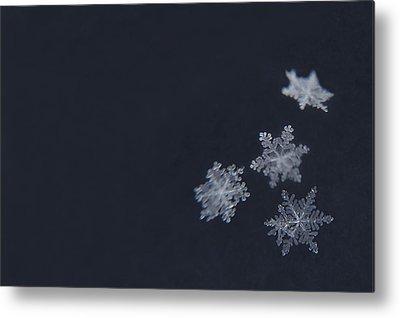 Snowflake Metal Prints