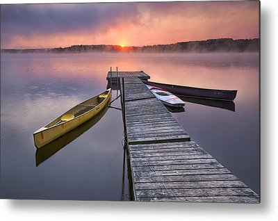 Kayak Metal Prints