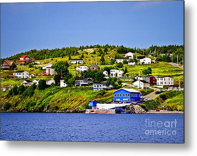 Port Town Metal Prints