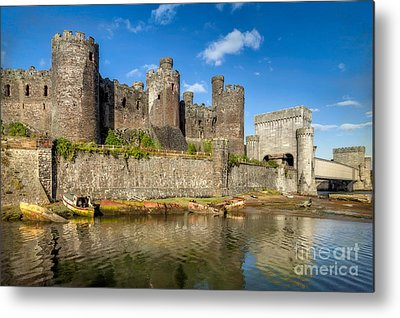Conwy Castle Metal Prints