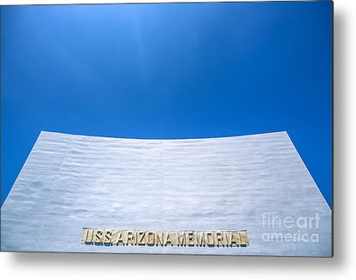 Uss Arizona Metal Prints
