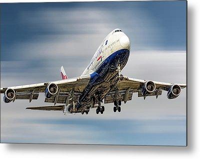 Boeing 747 Metal Prints