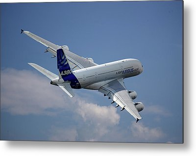 Airbus A380 Metal Prints