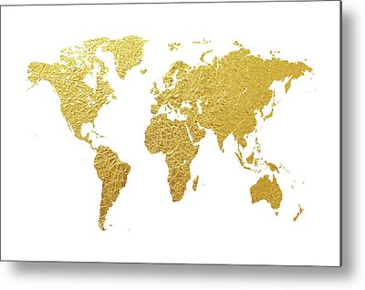 Gold leaves art fine art america gold leaves metal prints gumiabroncs Gallery