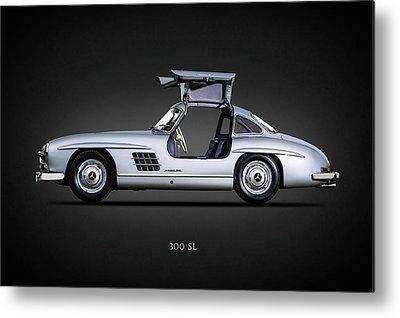 Mercedes-benz 300 Sl Metal Prints