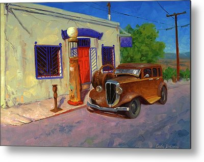 Gas Pump Metal Prints