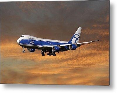 Cargo Plane Metal Prints