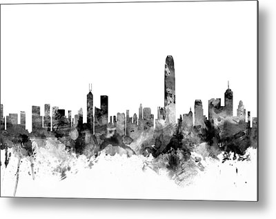 Hong Kong Metal Prints