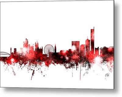 Manchester City Metal Prints