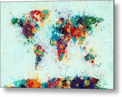 Colourfull Metal Prints