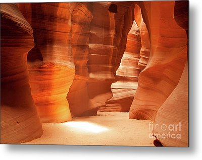 Martin Williams Slot Canyon Metal Prints
