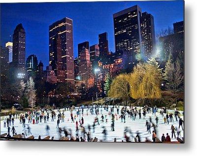 Central Park Metal Prints