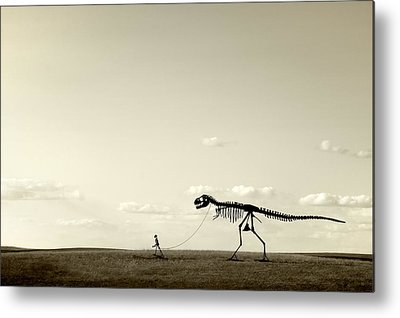 Extinct And Mythical Photographs Metal Prints