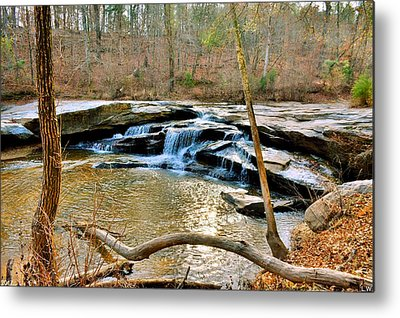 Mill Shoals Falls Metal Prints
