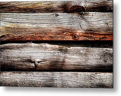 Wood Siding Metal Prints