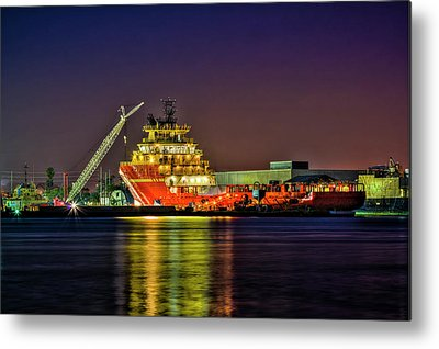Port Of Tampa Metal Prints