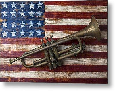 Trumpet Metal Prints