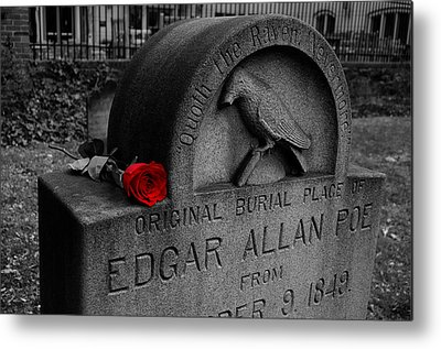 Edgar Allan Poe Metal Prints