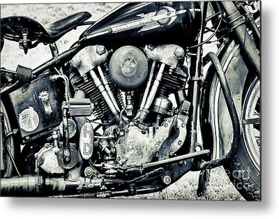 Knucklehead Metal Prints