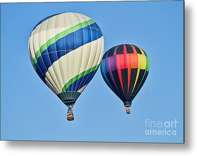 Hot Air Balloon Metal Prints