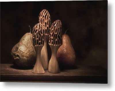 Wood Carving Metal Prints