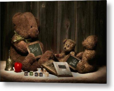 Teddy Bears Metal Prints