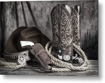 West Texas Metal Prints