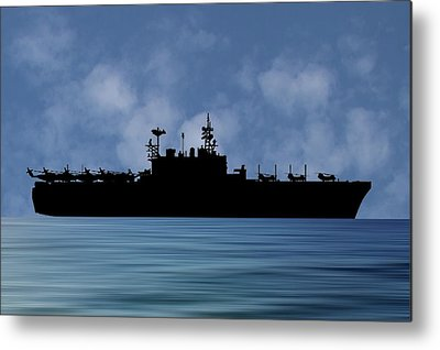 Amphibious Assault Ship Metal Prints